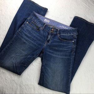 Gap 1969 PERFECT BOOT Medium Wash Denim Jeans